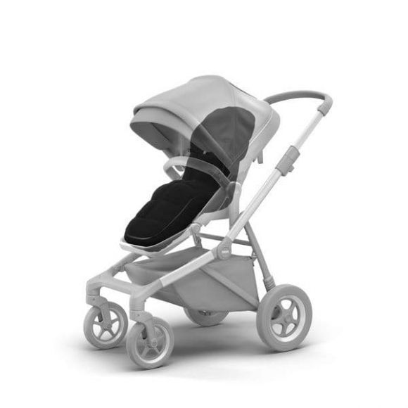 Ποδόσακος Thule Sleek Midnight Black στο Bebe Maison