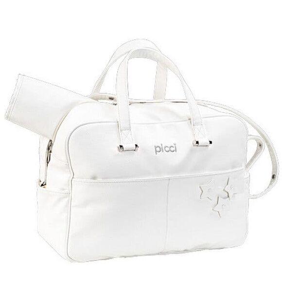 Τσάντα αλλαξιέρα Picci Sofia White στο Bebe Maison