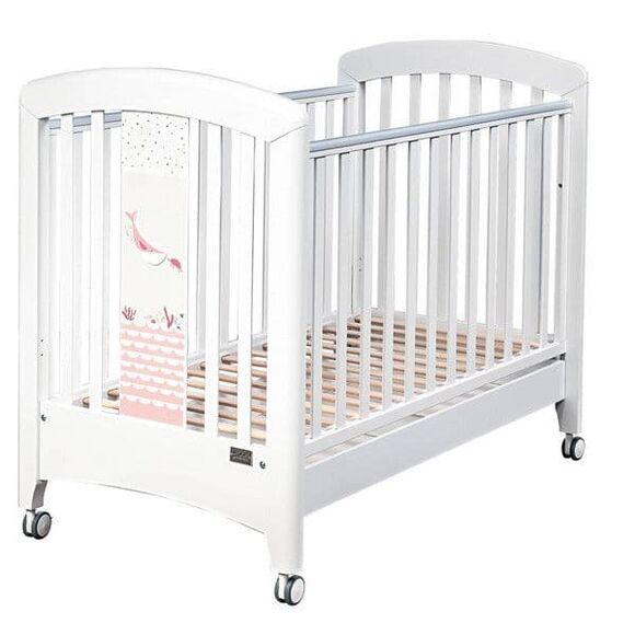 Βρεφικό κρεβάτι Picci σχέδιο Marlin Pink στο Bebe Maison