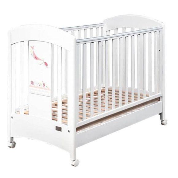 Βρεφικό κρεβάτι Picci σχέδιο Marlin Lux Pink στο Bebe Maison