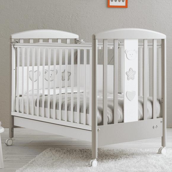 Ολοκληρωμένο βρεφικό δωμάτιο Pali Birillo white/warm grey στο Bebe Maison