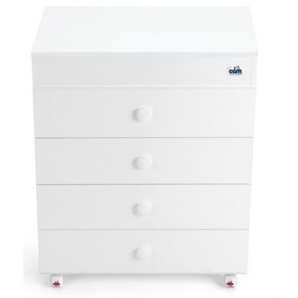 Συρταριέρα με μπανιέρα και αλλαξιέρα Cam Asia χρώμα noce (καρυδί) c913006 στο Bebe Maison