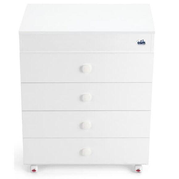Συρταριέρα με μπανιέρα και αλλαξιέρα Cam Asia χρώμα  φυσικό c916006 στο Bebe Maison