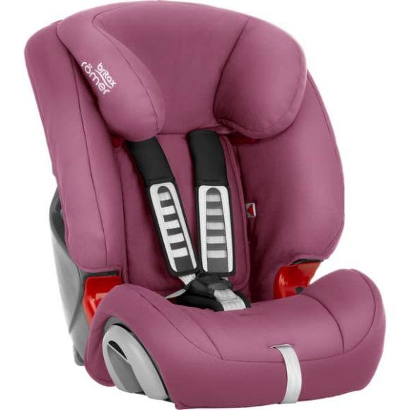 Κάθισμα αυτοκινήτου Britax-Romer Evolva 123 χρώμα Wine rose στο Bebe Maison
