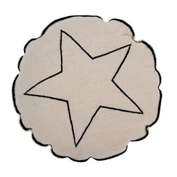 Lorena canals μαξιλάρι στρόγγυλο star (SC-RΟUΝD-SΤΑR) στο Bebe Maison