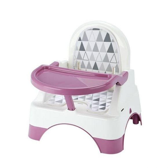 Kάθισμα φαγητού Thermobaby Edgar Booster seat with step orchid pink στο Bebe Maison