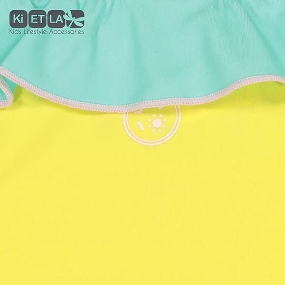 KiETLA Μαγιό Annette με UV προστασία Κίτρινο-Πράσινο στο Bebe Maison