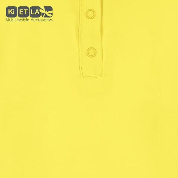 KiETLA Μπλούζα Pop με UV προστασία Κίτρινο-Άσπρο στο Bebe Maison
