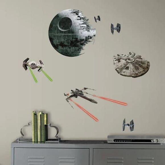 "Roommates Αυτοκόλλητα τοίχου ""Star Wars διαστημόπλοια"" στο Bebe Maison"