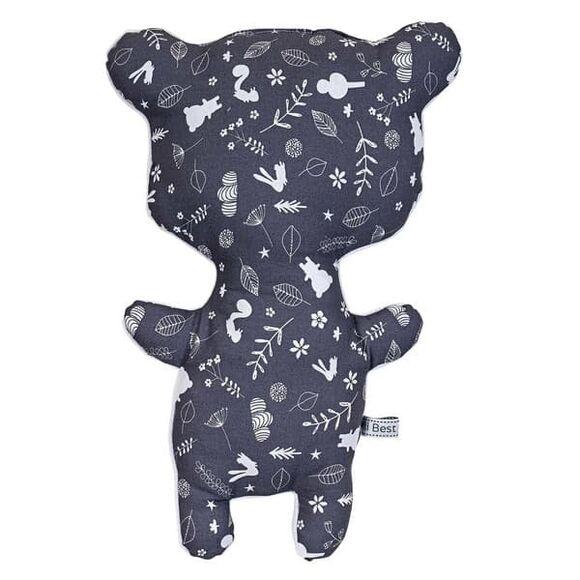 Μαξιλάρι φιγούρας από την συλλεκτική σειρά Dili Best  σχέδιο Ozzy Bear Grey στο Bebe Maison