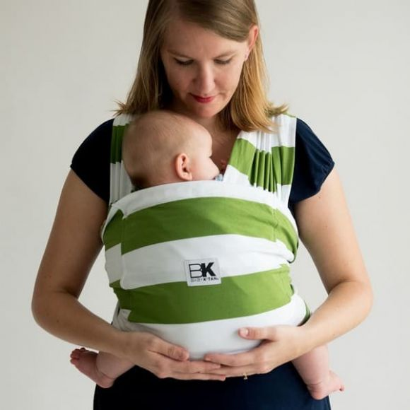 Μάρσιπος Baby K'tan Print Olive Stripes στο Bebe Maison