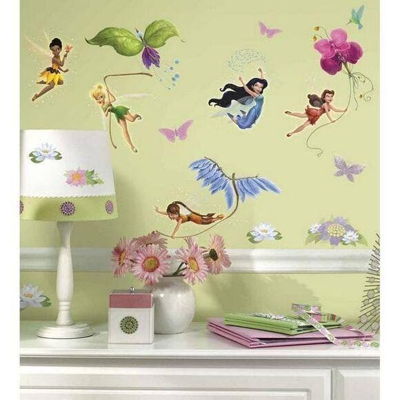"Roommates Αυτοκόλλητα τοίχου ""Tinker Bell Νεράιδες"" στο Bebe Maison"
