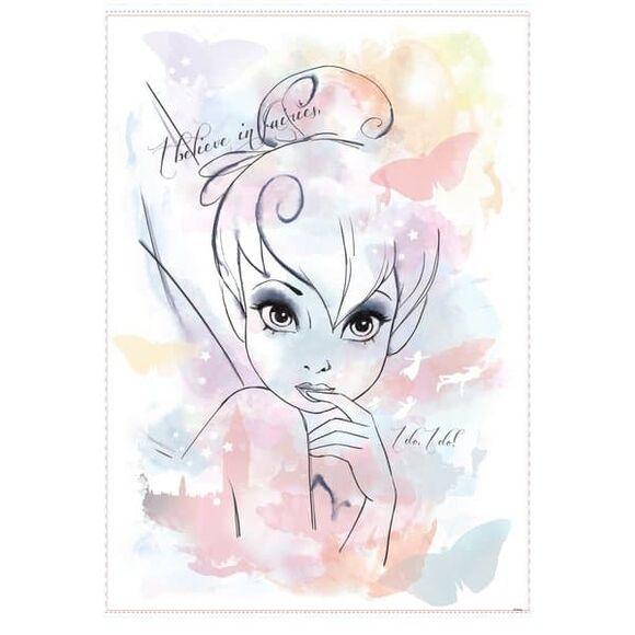 "Roommates Αυτοκόλλητα τοίχου ""Πορτραίτο Tinker Bell"" στο Bebe Maison"