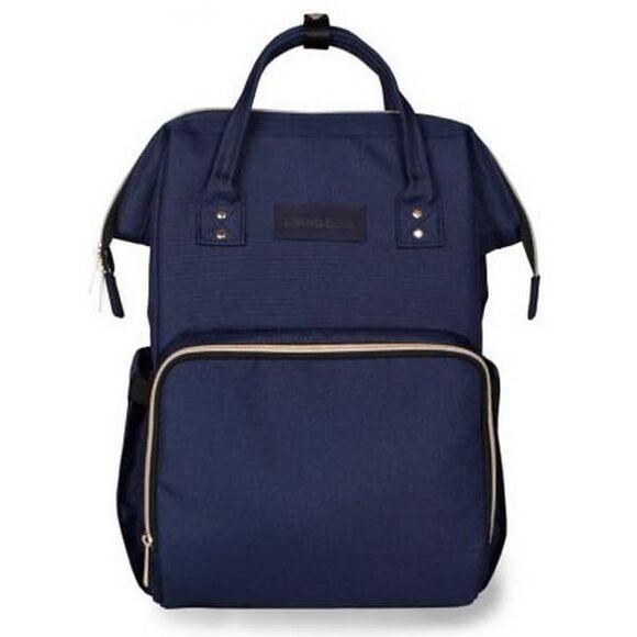 Τσάντα αλλαξιέρα/ σακίδιο πλάτης Kikka Boo Siena Navy στο Bebe Maison