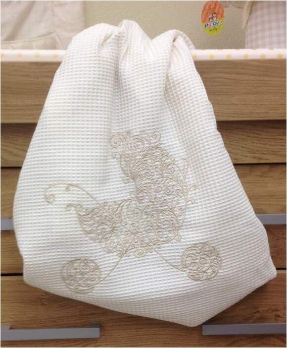 Κουβέρτα πικέ κρεβατιού Bebe Maison My Sweet baby (Bamboo) στο Bebe Maison