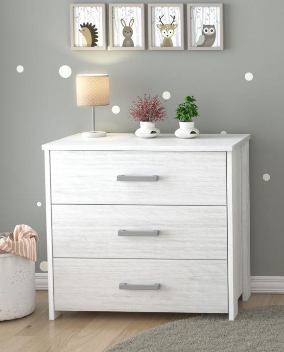 Ολοκληρωμένο βρεφικό δωμάτιο Nado Aqua White στο Bebe Maison