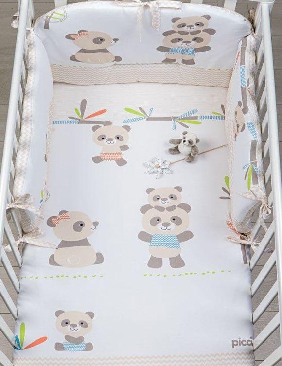 Σετ προίκας Picci σχέδιο Bobo printed Sand στο Bebe Maison